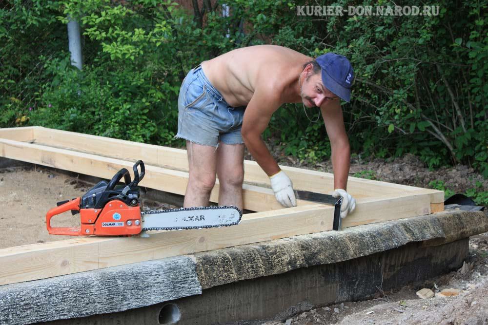 строительство дачи своими руками