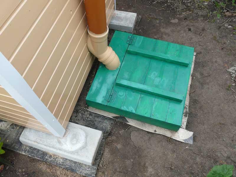 Дачный туалет с выгребной ямой пошагово