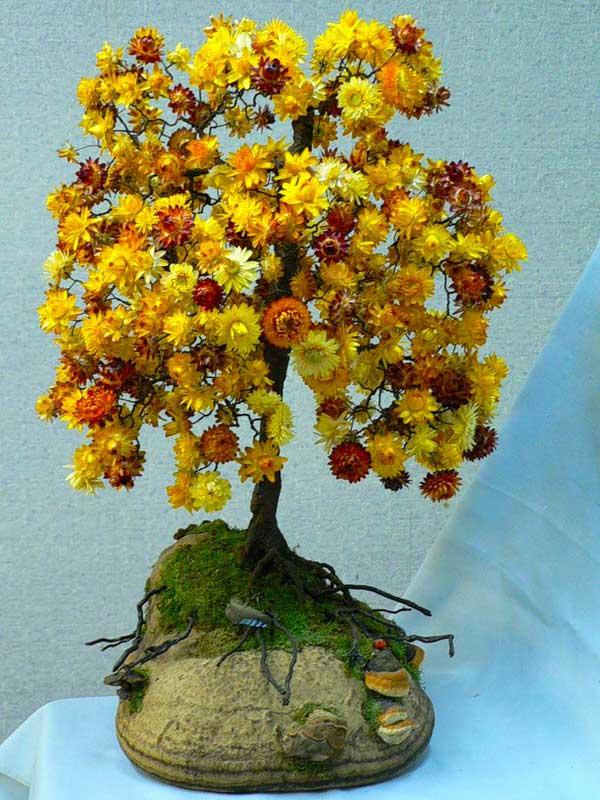 Сухоцветы поделки