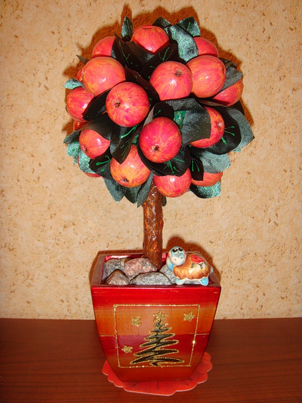 Яблоко своими руками фото